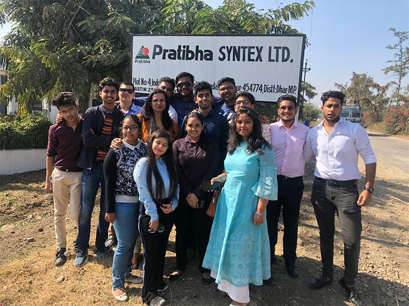 Industrial Visit to Pratibha Syntex Ltd.