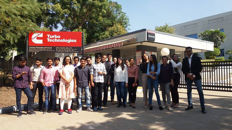 Industrial Visit to Turbo Technologies