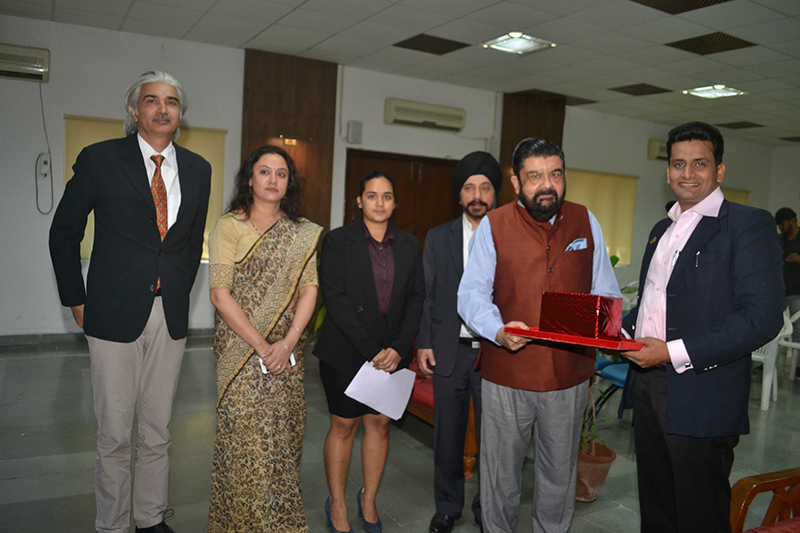 IMA Student Chapter Inaugural Ceremony